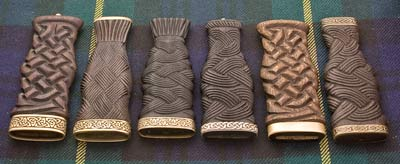 Real Wooden Carved Handles