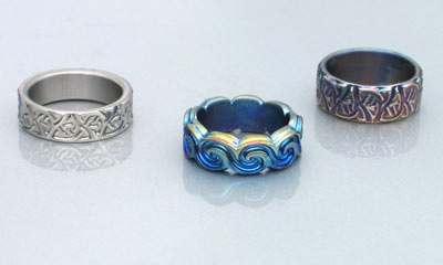 Celtic Titanium Rings